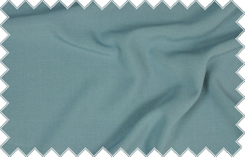 Středně modrá kalhotovka, oblekovka s elastanem, š.140 cm