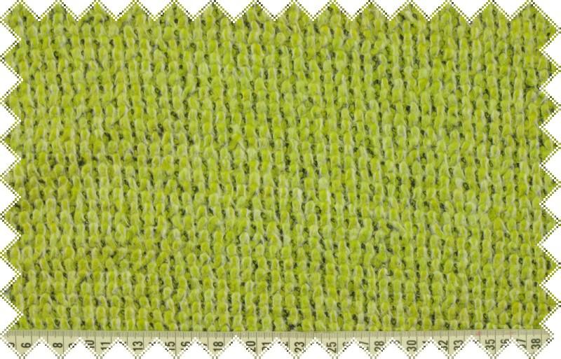 Světle zelená silnější svetrovina , š.165 cm