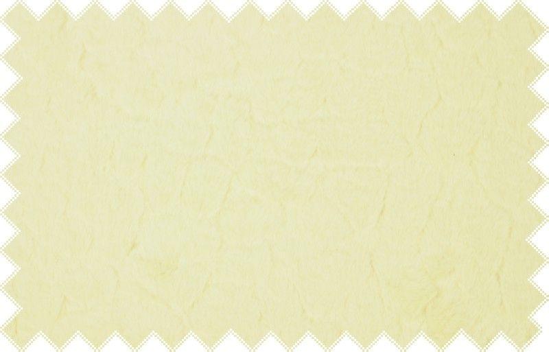 Smetanová kožešina s vyráženým vzorkem, š.150 cm