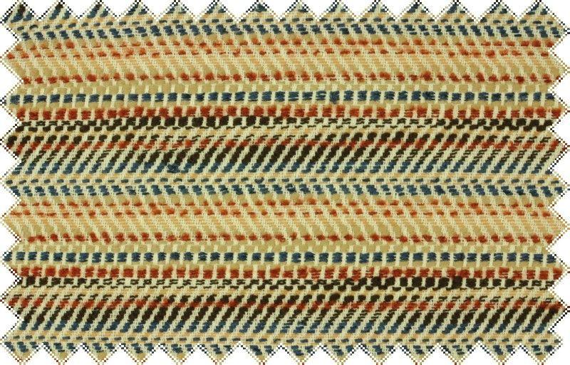 Vlněná kabátovka s drobným vzorkem v barvách hnědá, rezavá , modrá smetanová ,š.160 cm