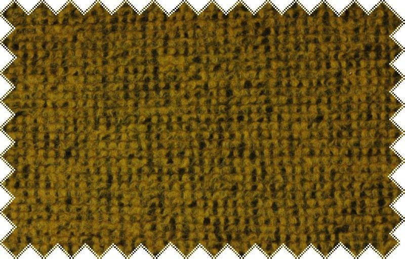 Hořčicově žlutá silná svetrovina, š.160cm