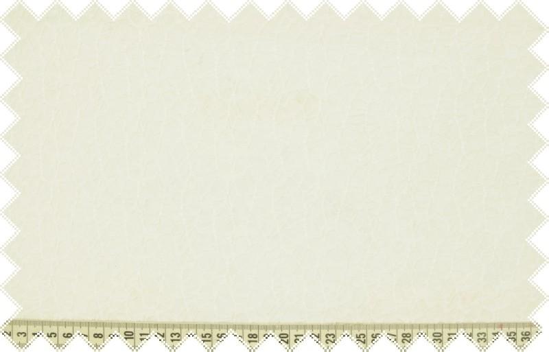 Smetanový poloprůhledný úplet s krajkovým vzorem, š.160 cm