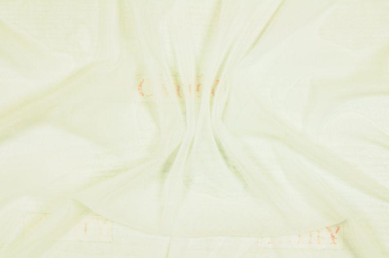 Čistě bílá úpletová elastická podšívka, š.160 cm