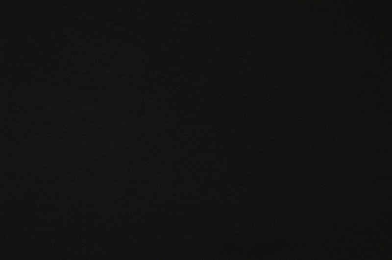 Černá slabší teplákovina,š.180 cm