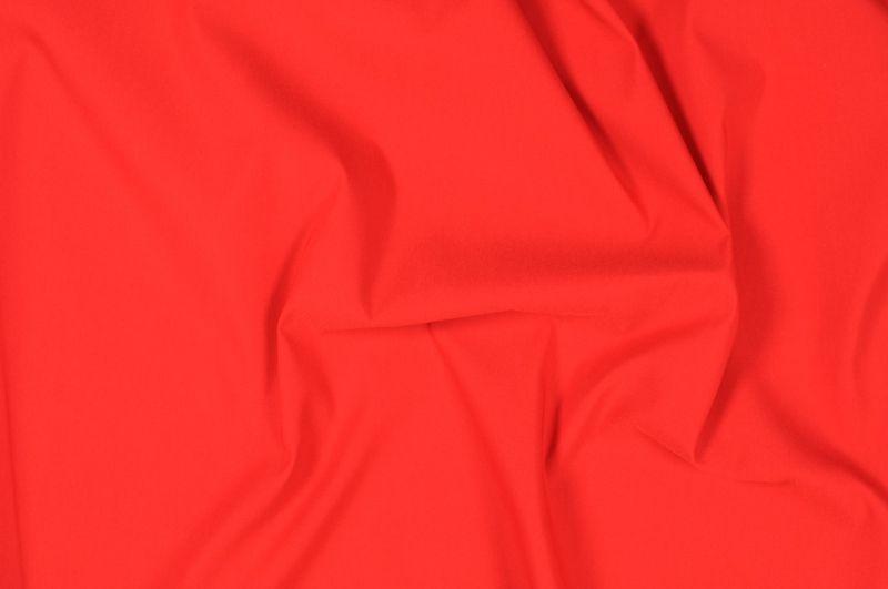 Červené plátno s elastanem, š.142 cm