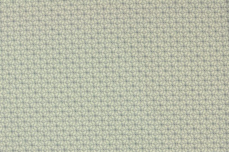 Modro-šedá šatovka, kostýmovka s vytkávaným drobným vzorkem, š.150 cm