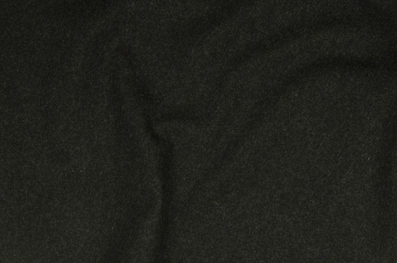 Černý flauš,š. 150 cm