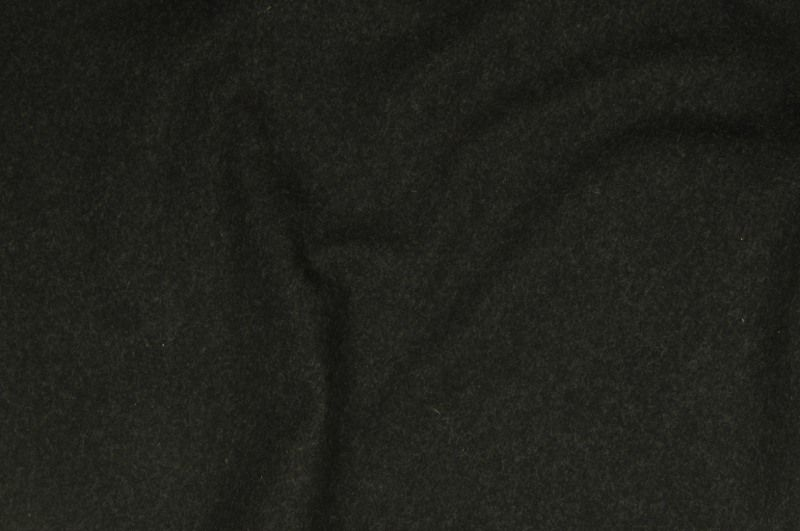 Antracitový flauš,š. 150 cm