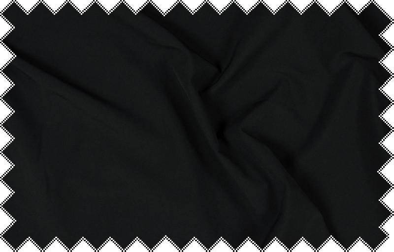 Černá funkční látka se spandexem
