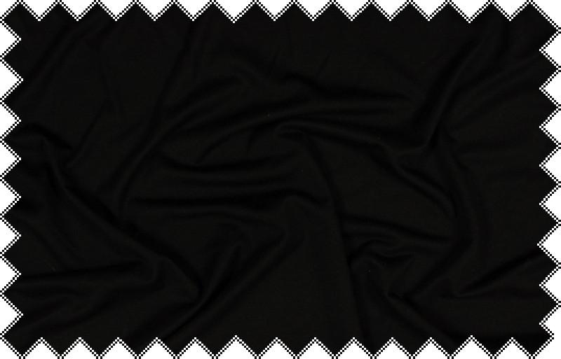 Černá elastická teplákovina
