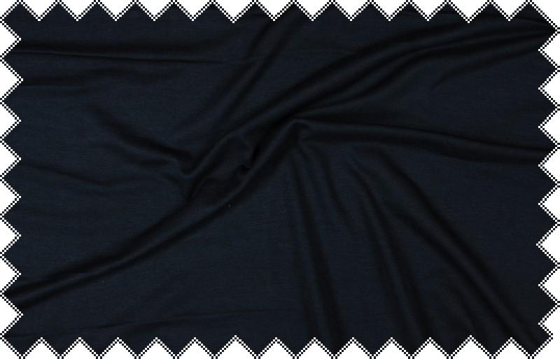 Tmavě modrý elastický úplet š.175 cm