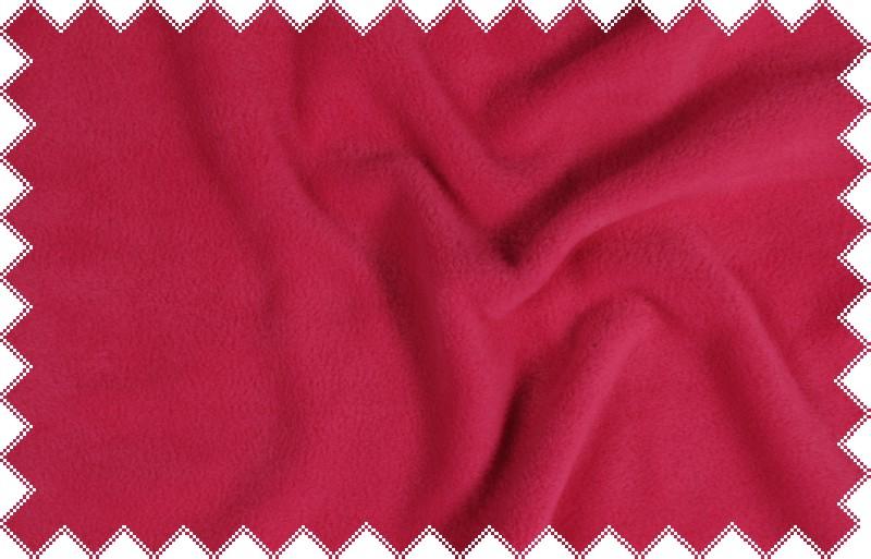 Sytě růžový silnější fleece