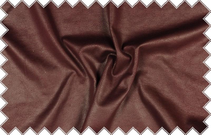 Vínový elastický pevnější úplet koženkového vzhledu