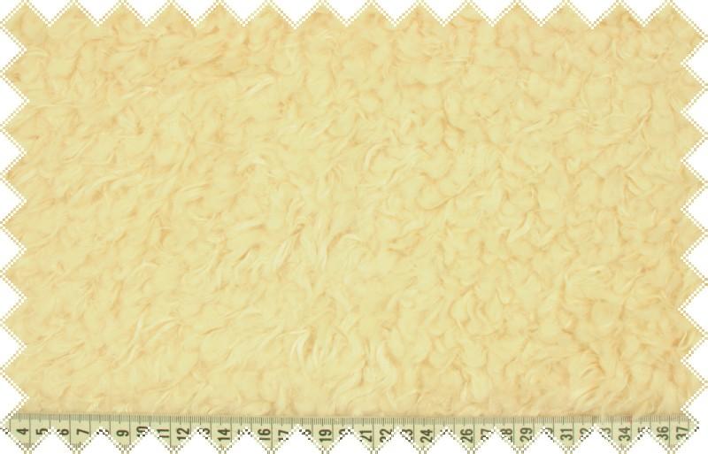 Smetanový beránek, kožešina s vlasem cca 2cm