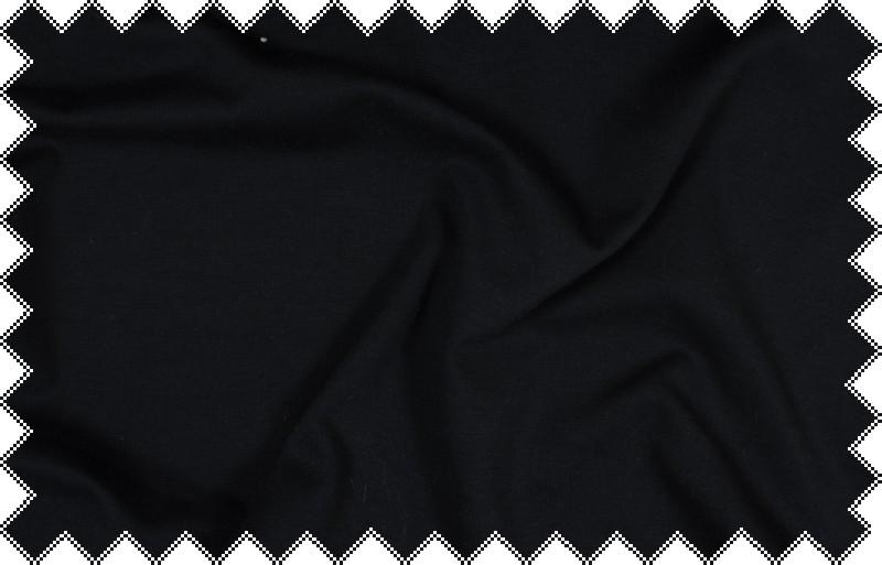 Tmavě modrý pevnější elastický splývavý úplet , š.150 cm