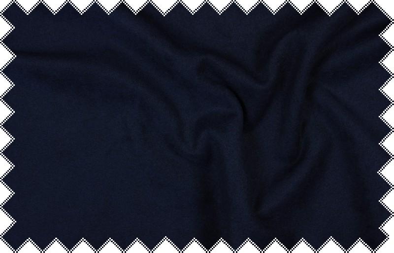 Tmavě modrý flauš,š. 150 cm