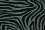 Modro -černá vlněná látka se vzorem ,š.160 cm
